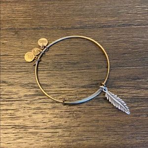 Alex and Ani Feather bangle